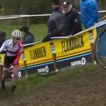Cyclocross Bike Race with Mountain Bike